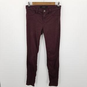 J Brand Super Skinny Pinot Stretch Pants Size 26